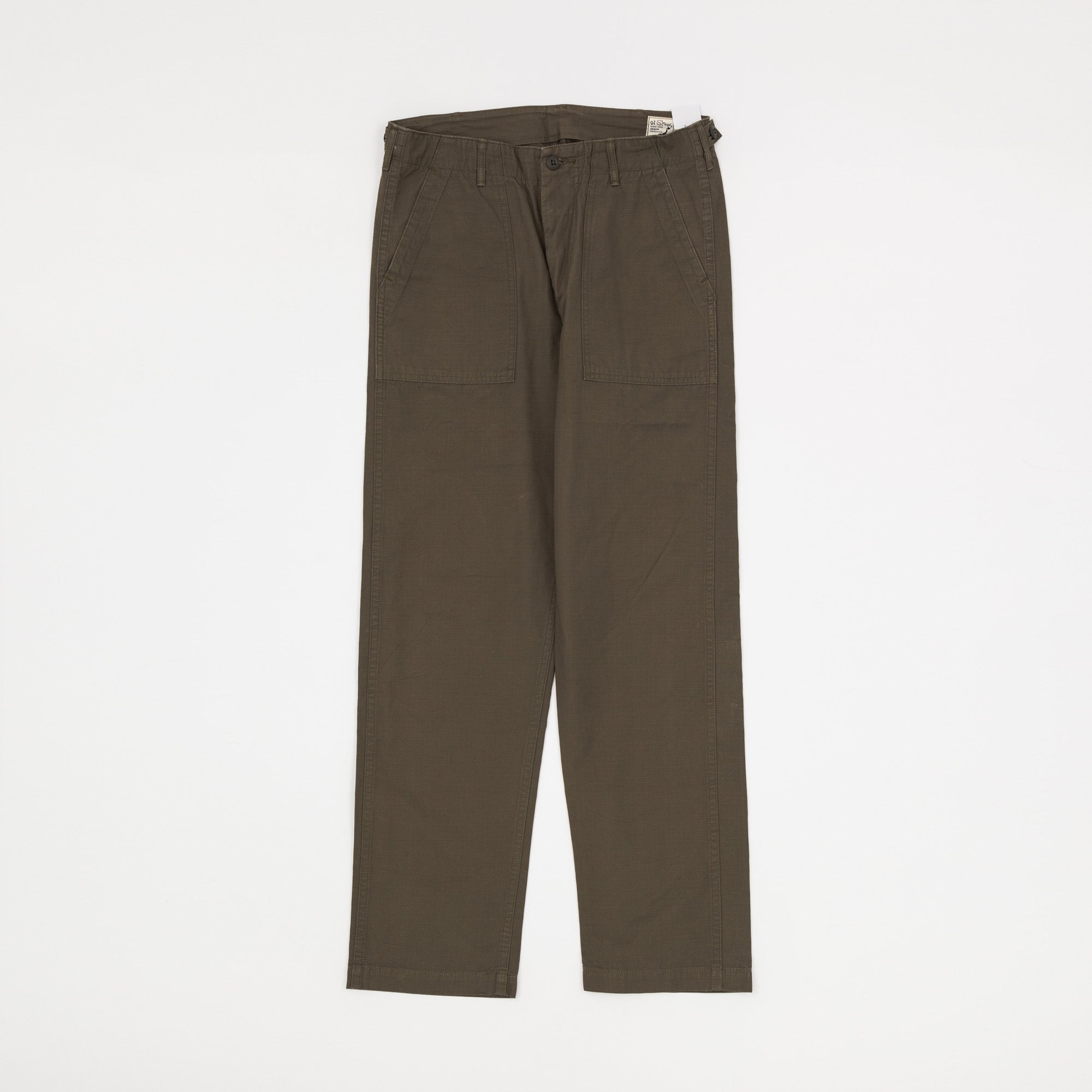Orslow Ripstop Fatigue Trousers