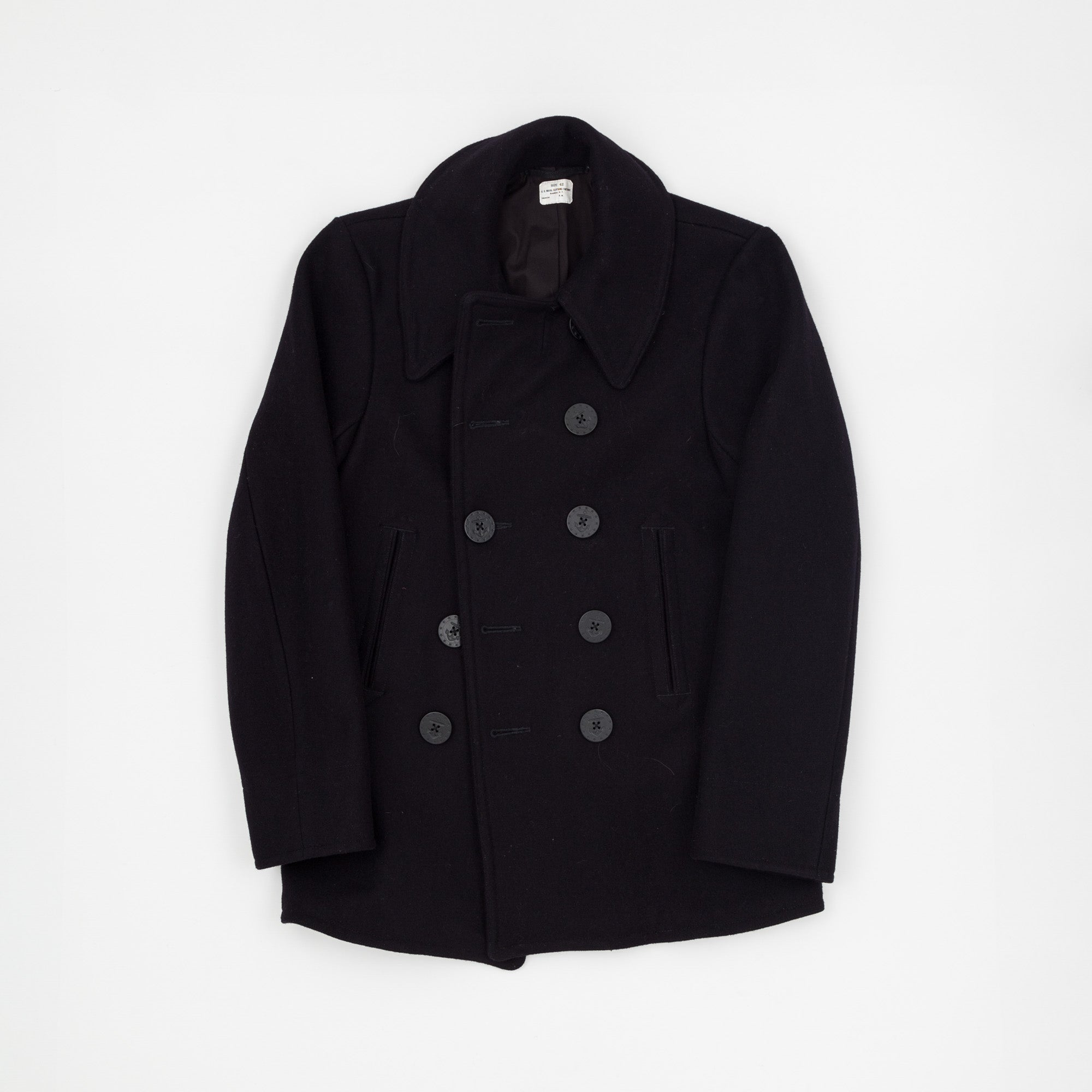 The Real McCoy's U.S Navy Pea Coat