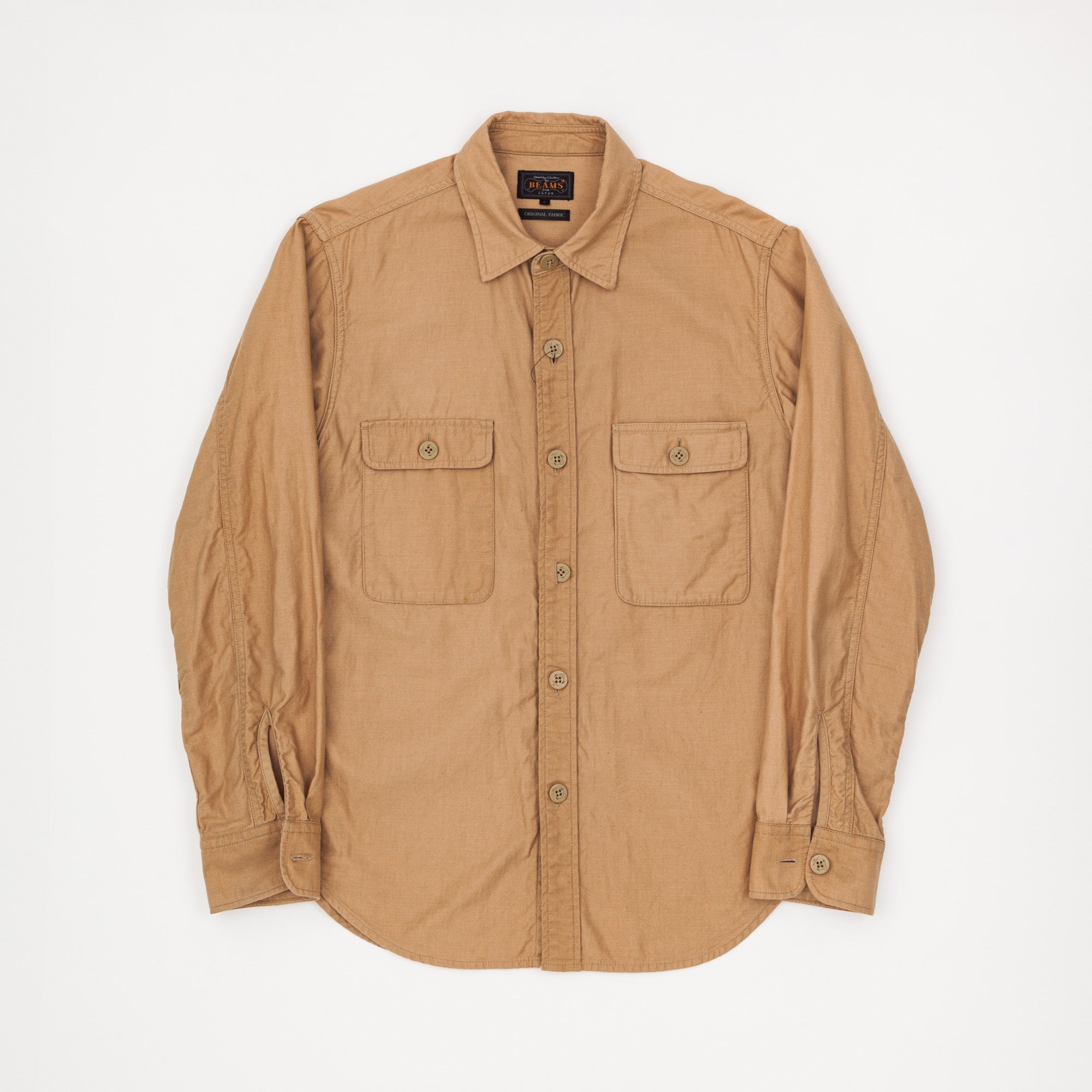 Beams+ Organic Cotton CPO Overshirt