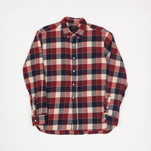 Beams Plus Flannel Checked Shirt