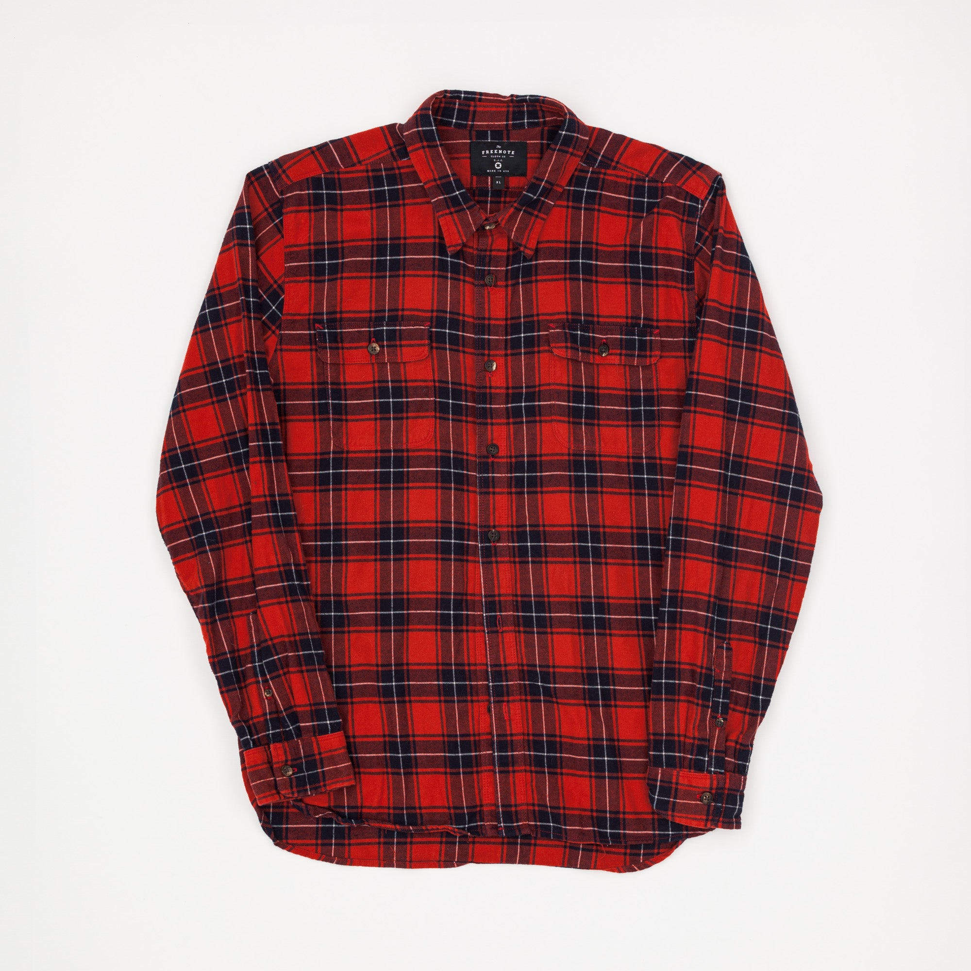 Checked Flannel Work Shirt