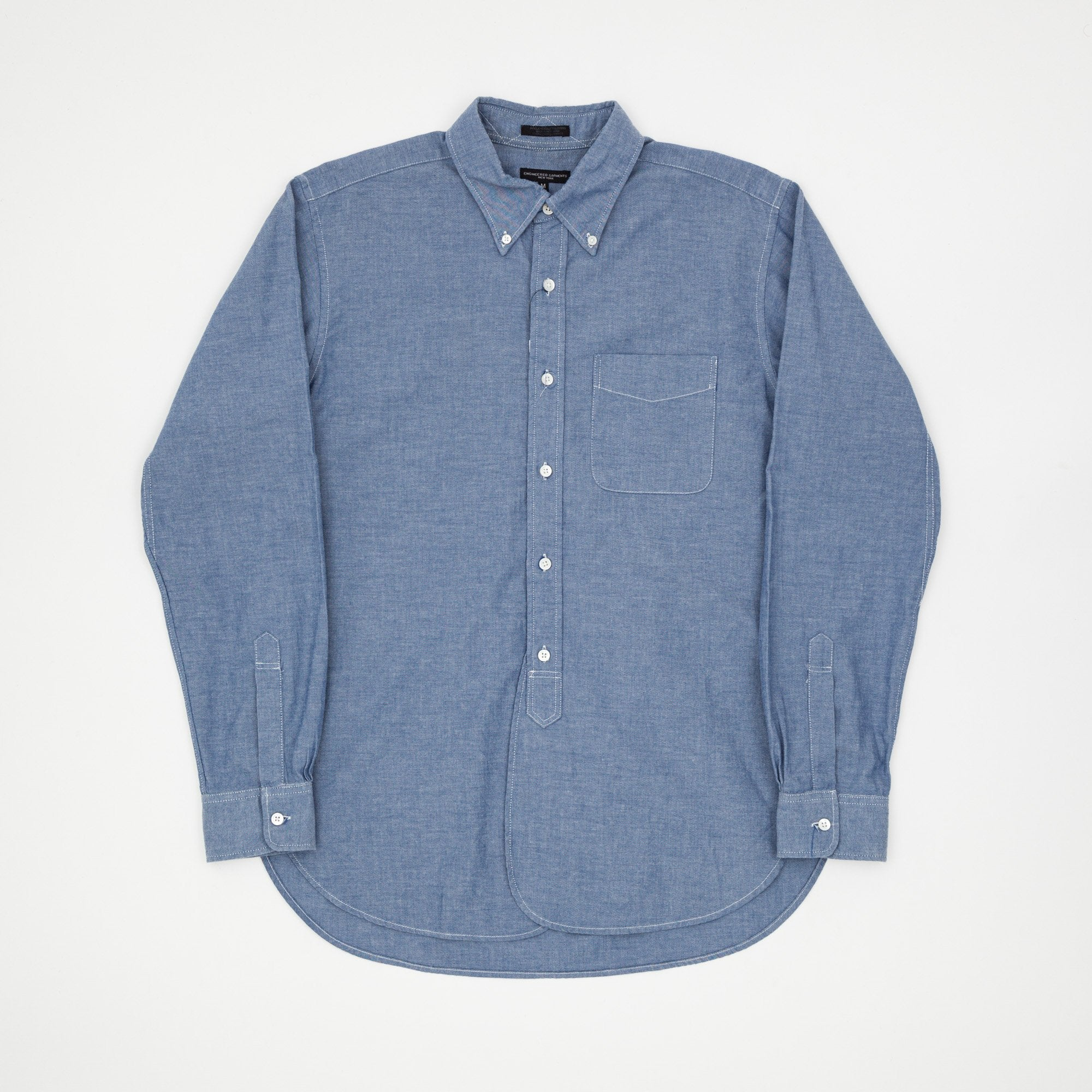 Engineered Garments Dress Chambray Work Shirt