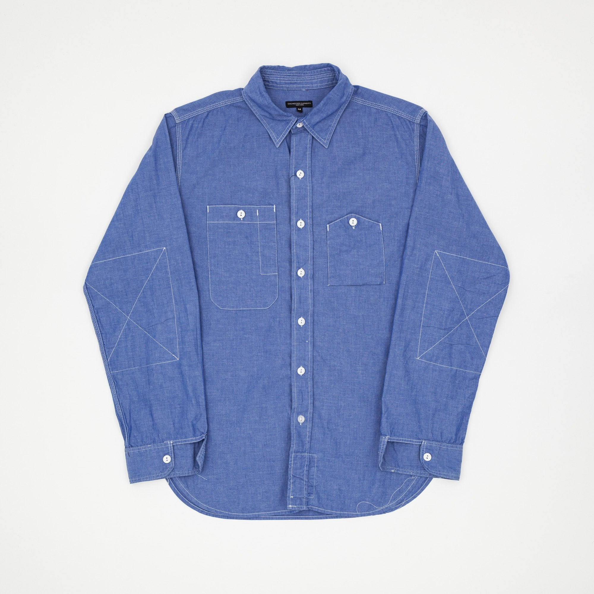 Engineered Garments 19th C. BD Chambray Shirt