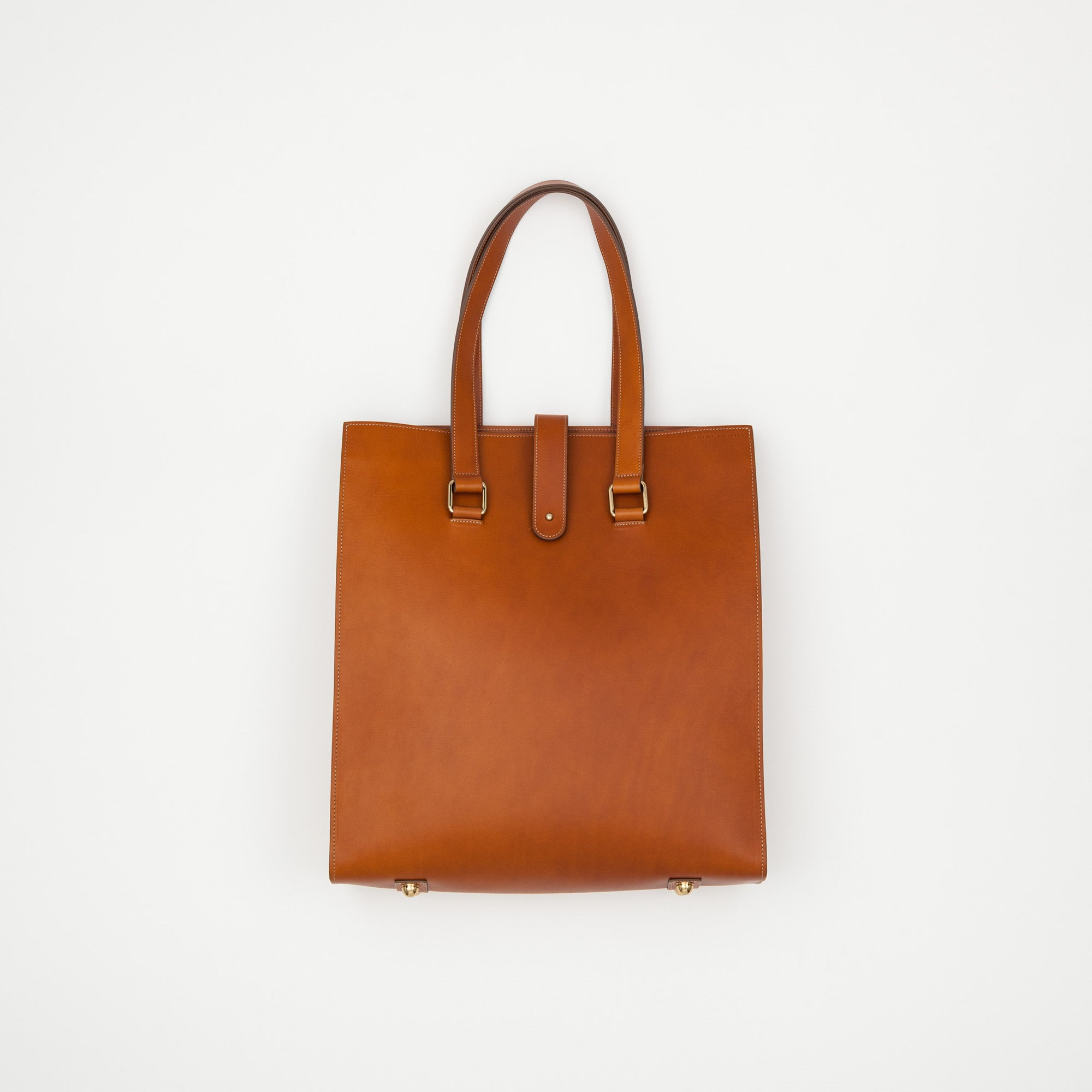 Globetrotter x Permanent Style Leather Tote Bag