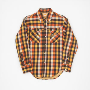 Plaid Sherpa Lined Western Shirt