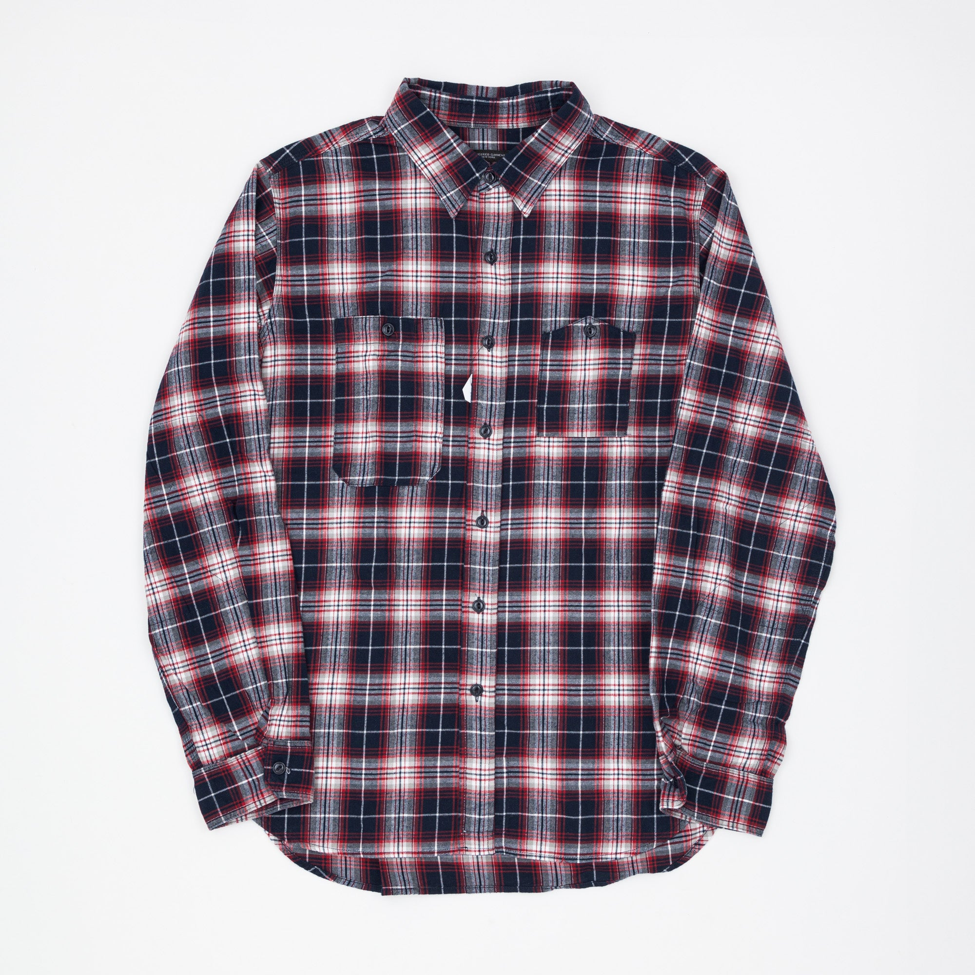 Engineered Garments Check Flannel Work Shirt