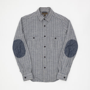 Nigel Cabourn Striped Work Shirt (Sample)