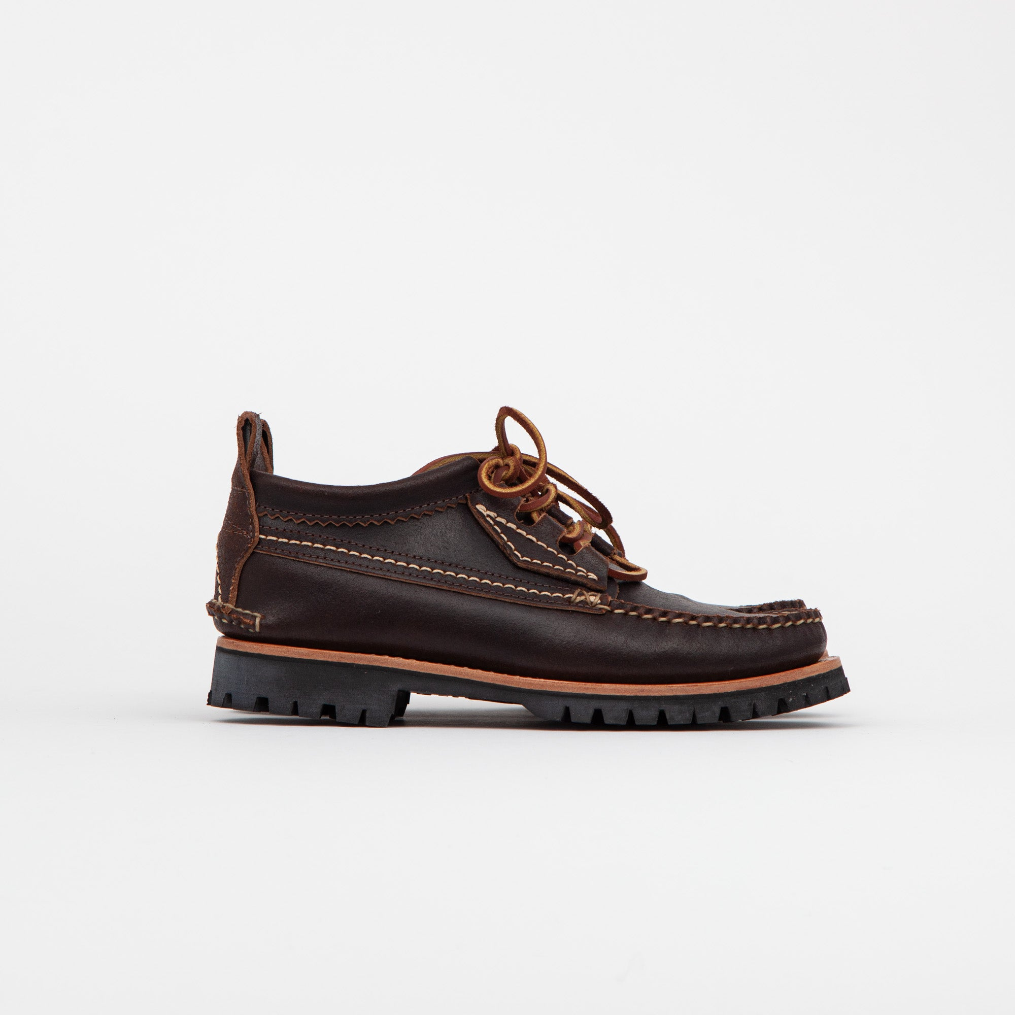 Yuketen Maine Guide OX Quebec Eyestay Waxed Shoes