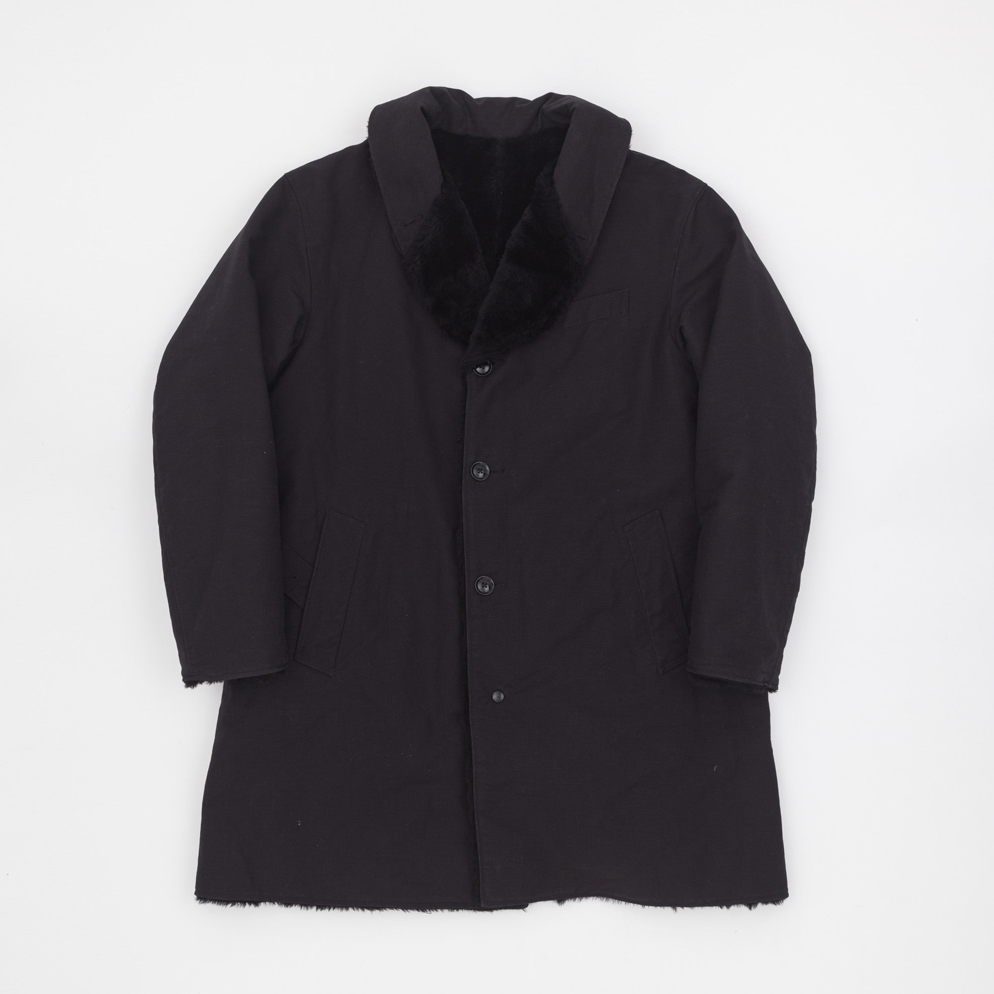 Engineered Garments Reversible Shawl Collar Coat