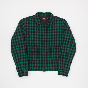 RRL Wool Plaid Shirt Jacket