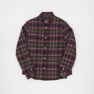 A.P.C Check Wool with Zip In Liner Overshirt