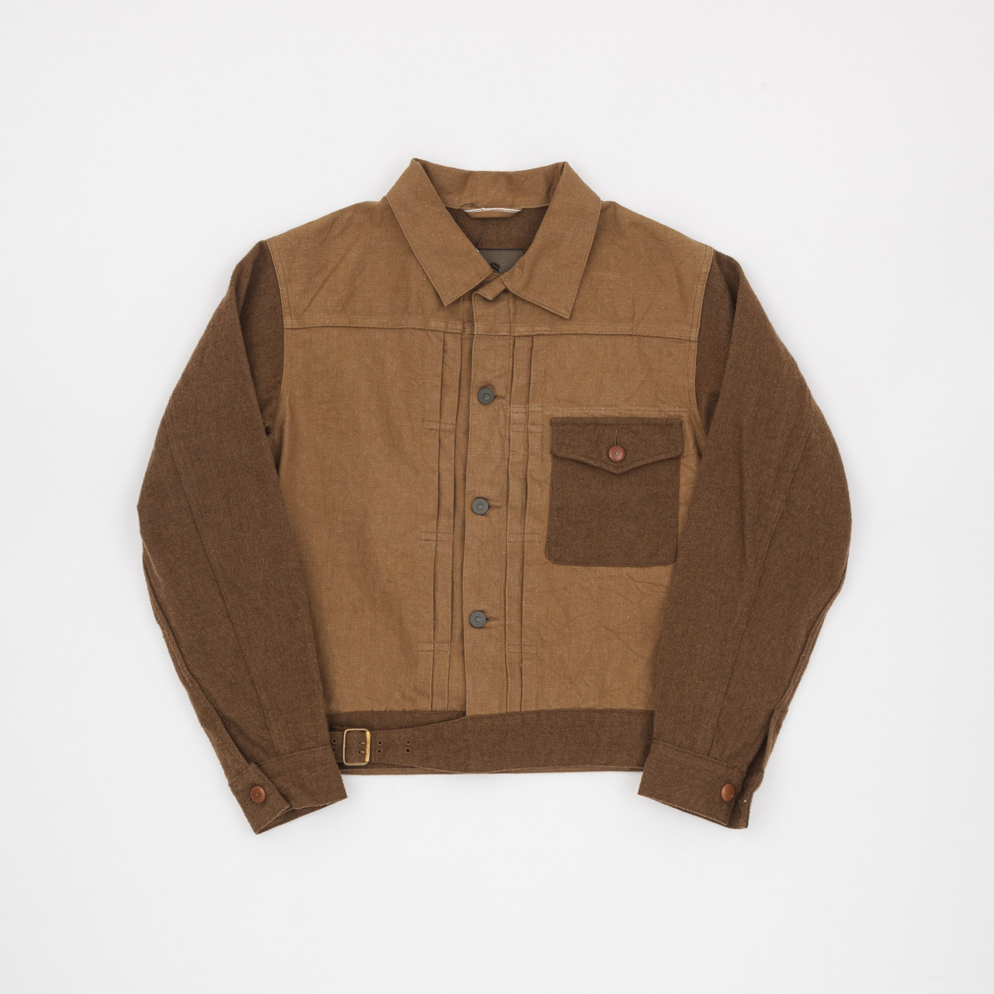Nigel Cabourn Mainline Type I Denim & Wool Jacket