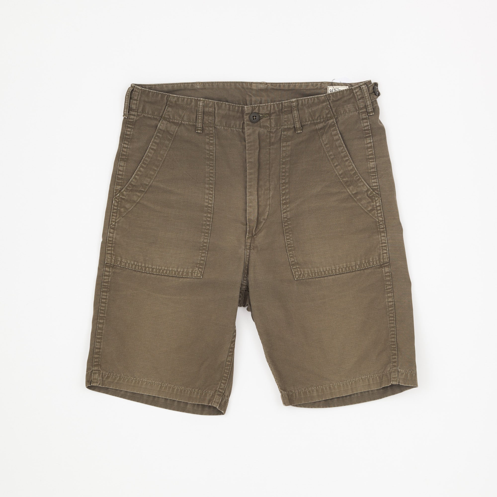 Orslow Ripstop Fatigue Shorts