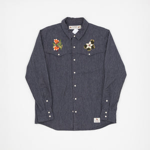 Neighbourhood Embroidered western shirt