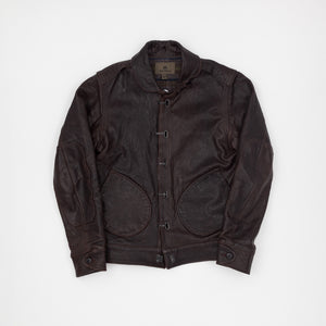 Nigel Cabourn Lined Leather Jacket