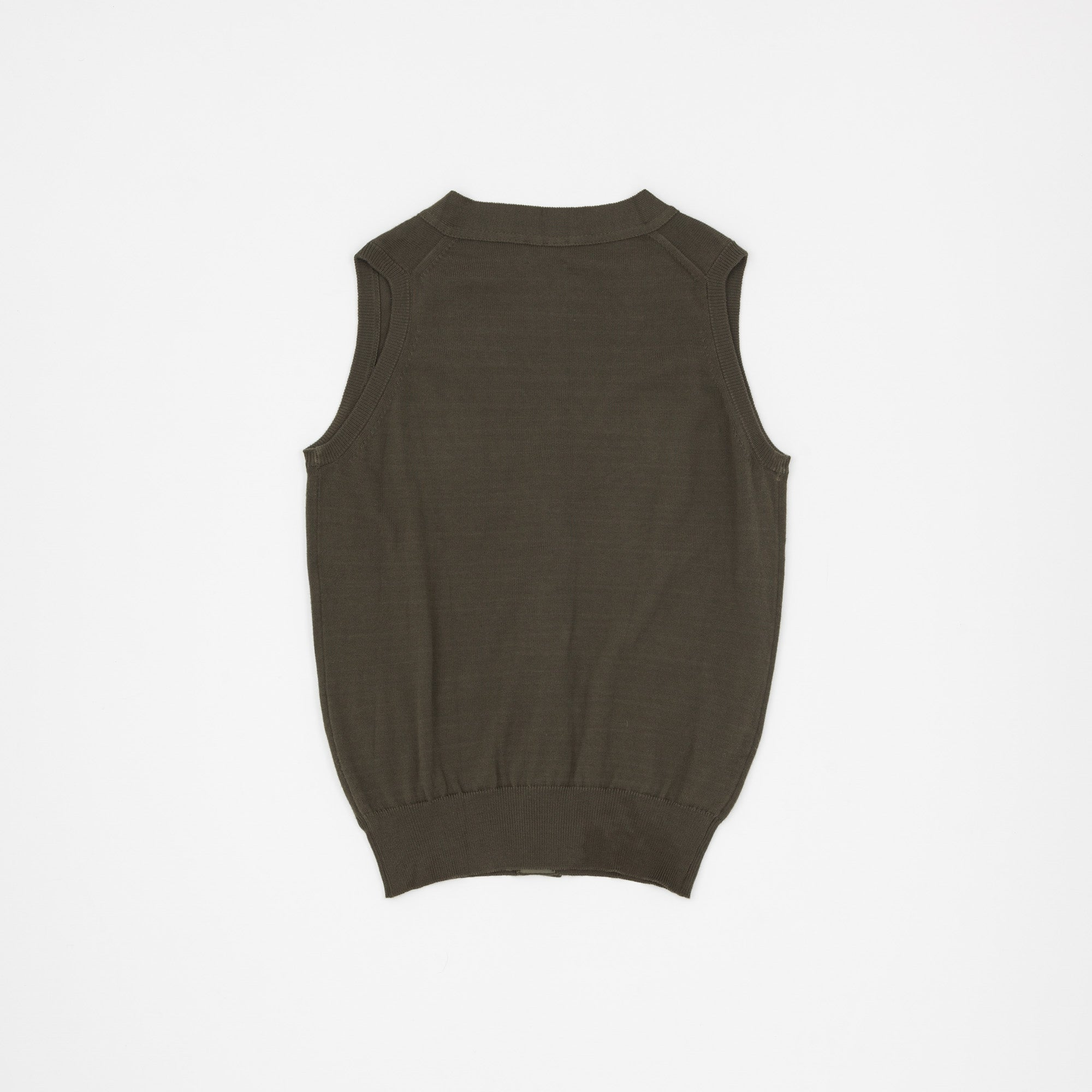 Knitted Cotton Vest