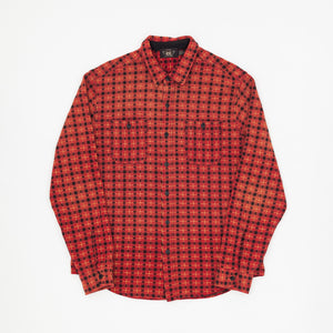 Square Patterned Work Shirt