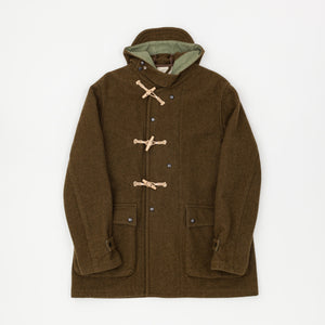 Engineered Garments Melton Wool Duffle Coat