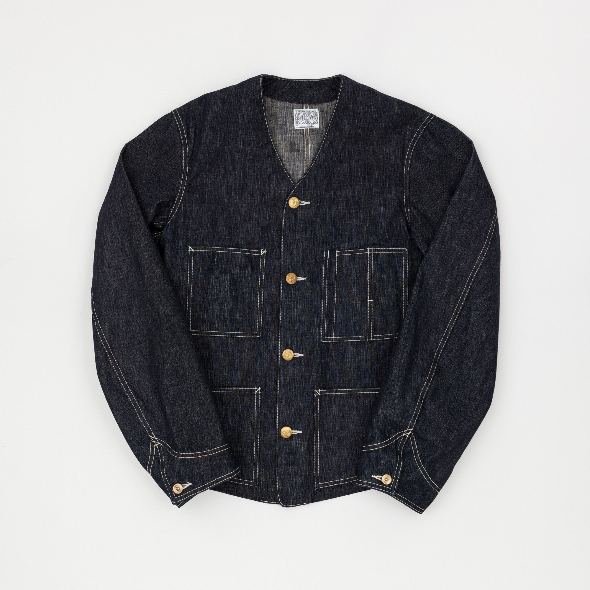 The Real McCoy's 8HU Denim Chore Coat