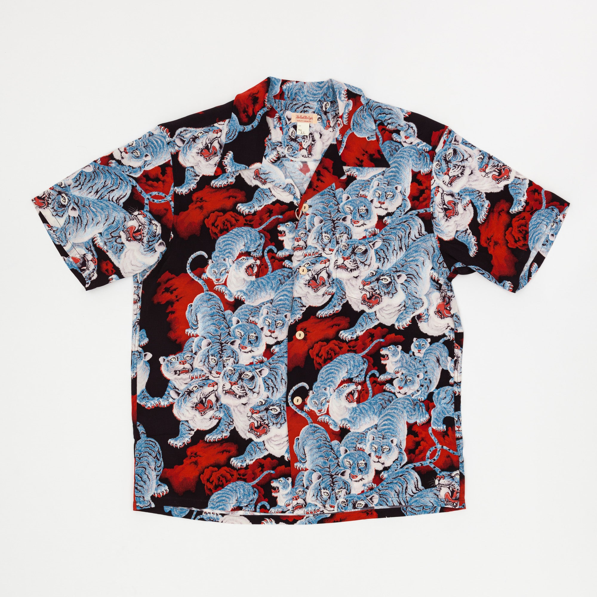 The Real McCoy's Hawaiian Shirt / HYAKU-TORA