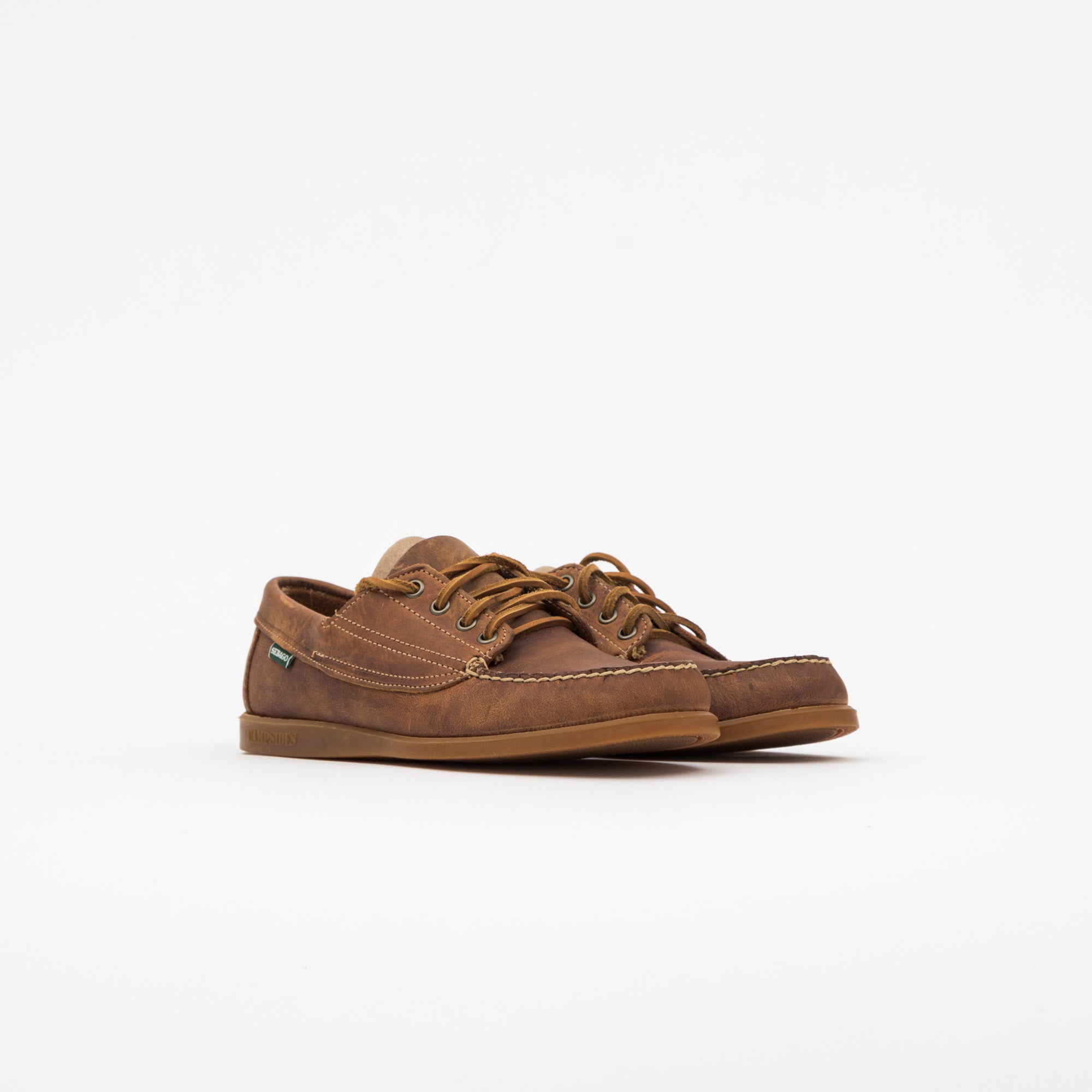 Askook Moccasins Crazy Horse Leather Shoe
