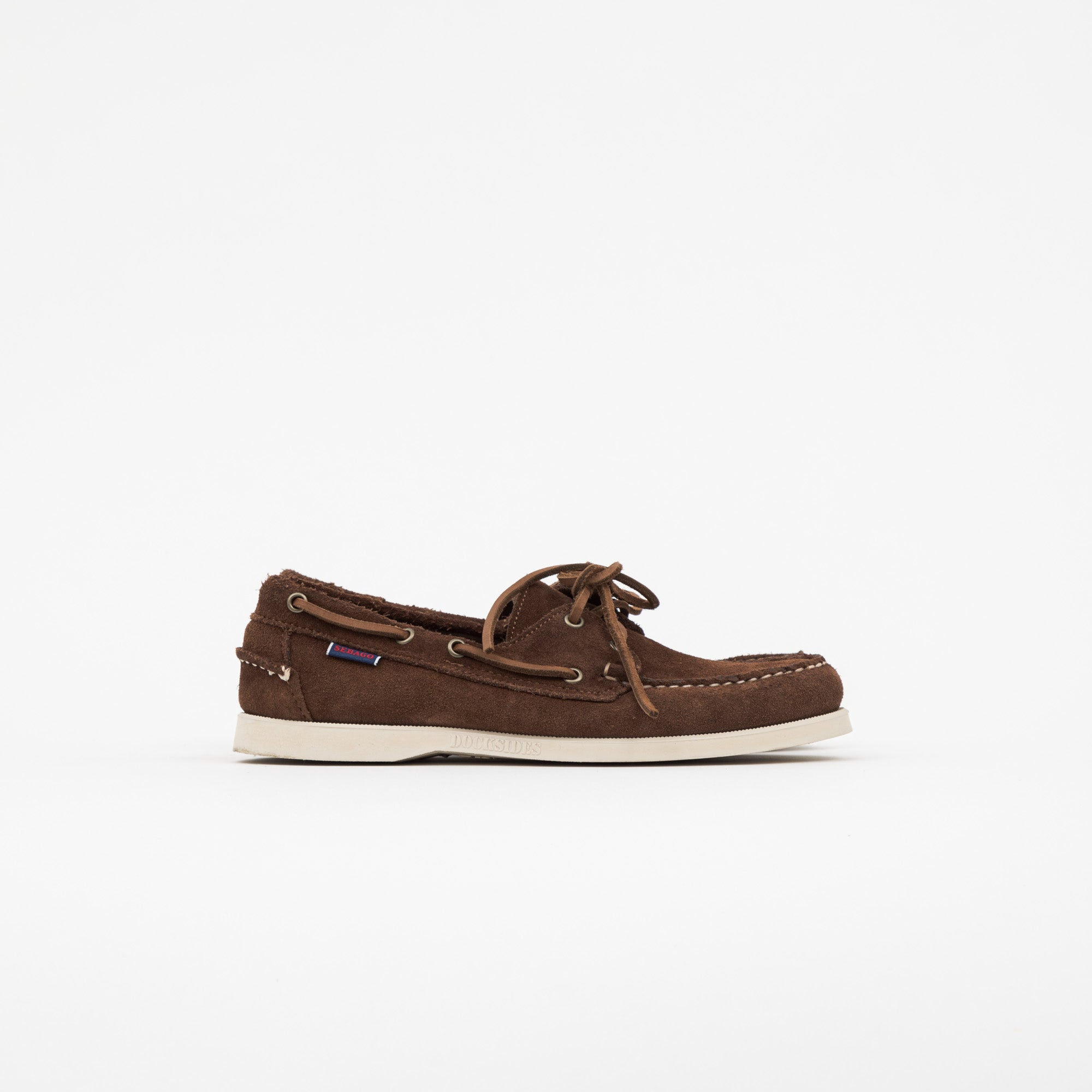 Sebago Docksides Suede Boat Shoes
