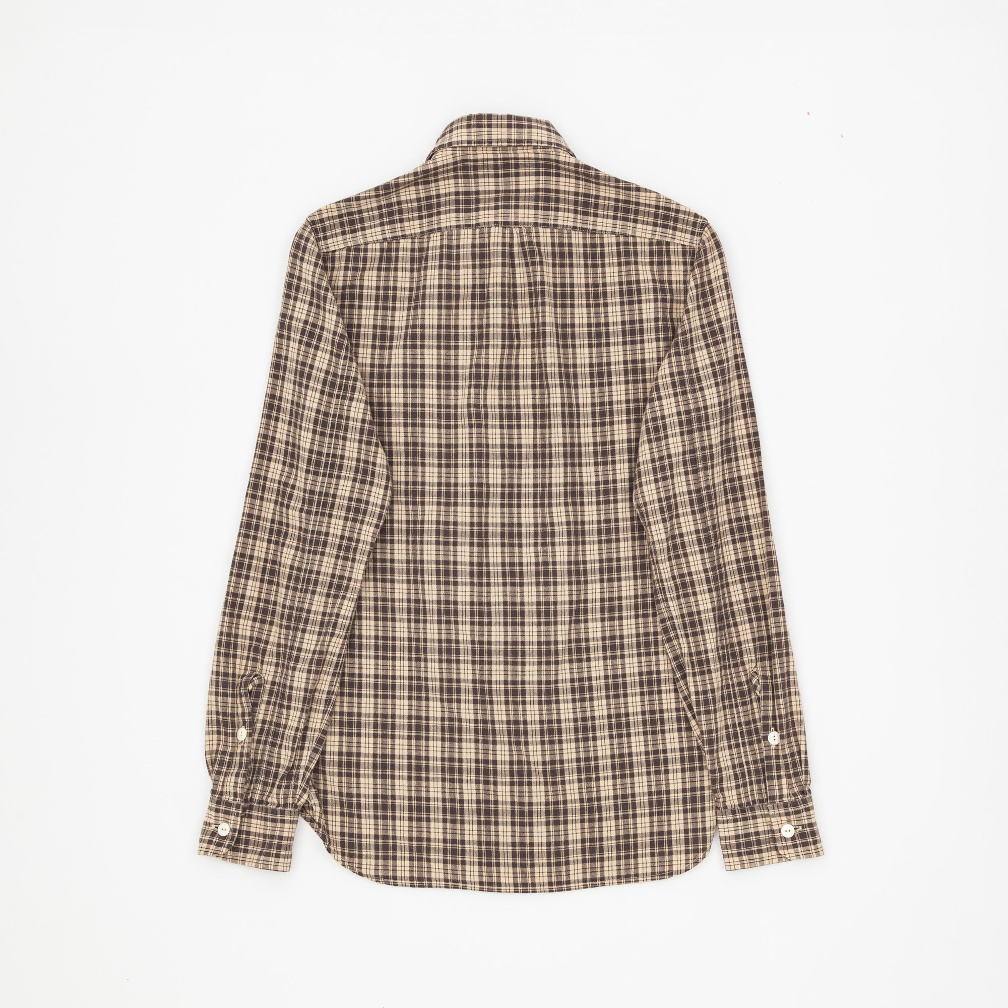 Cotton Checked Work Shirt
