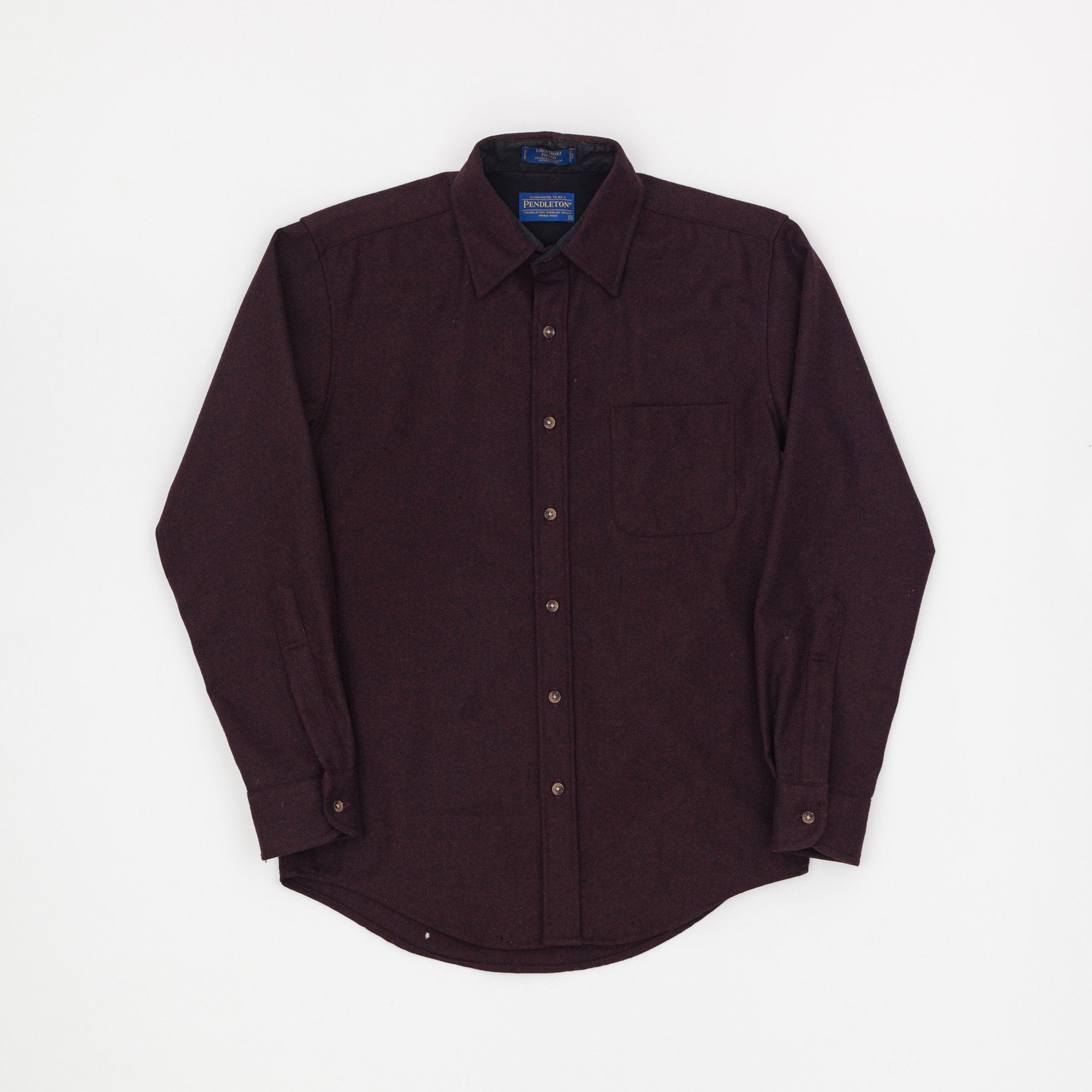 Pendleton Plain Wool Lodge Shirt