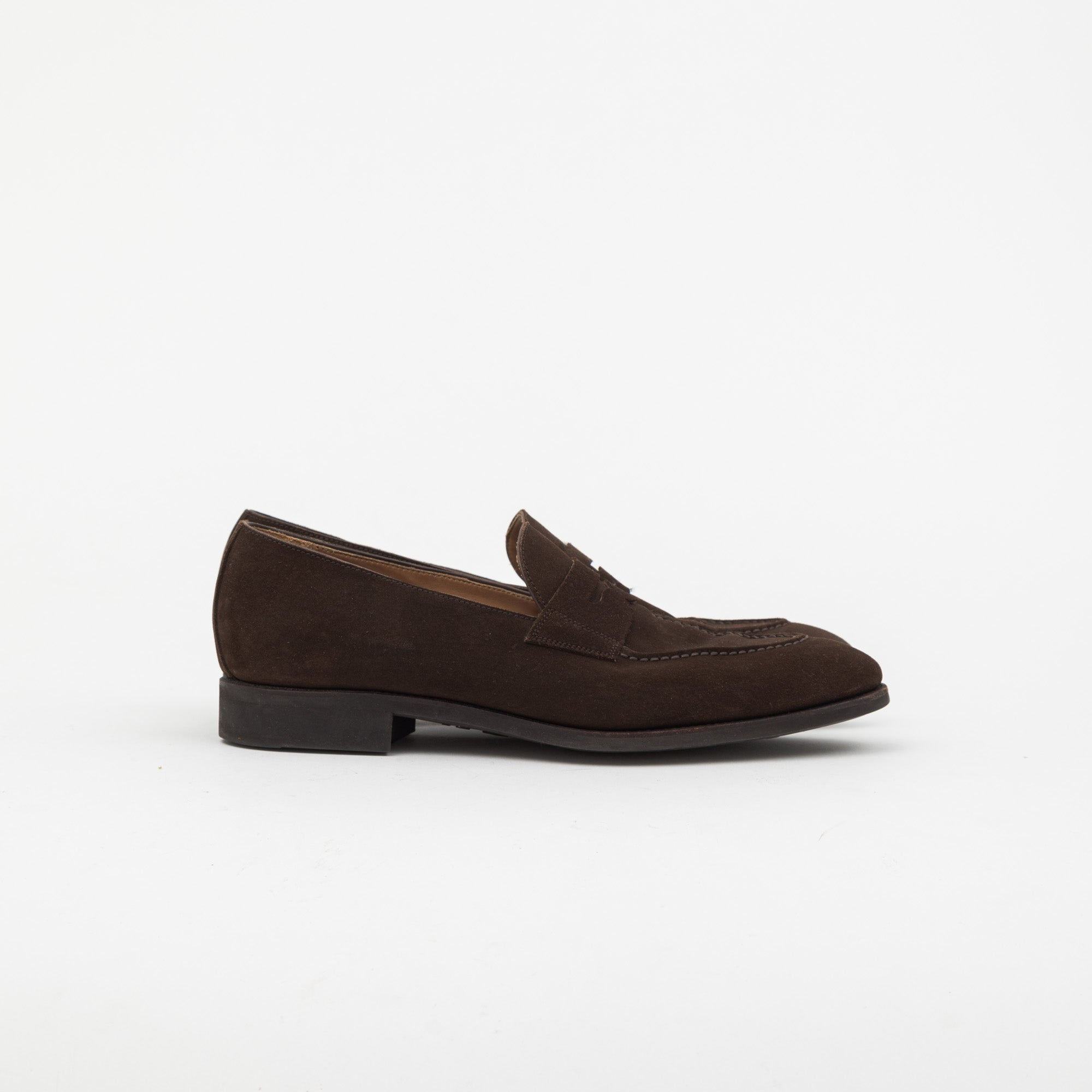 Unlined Penny Loafer (Rubber Sole)