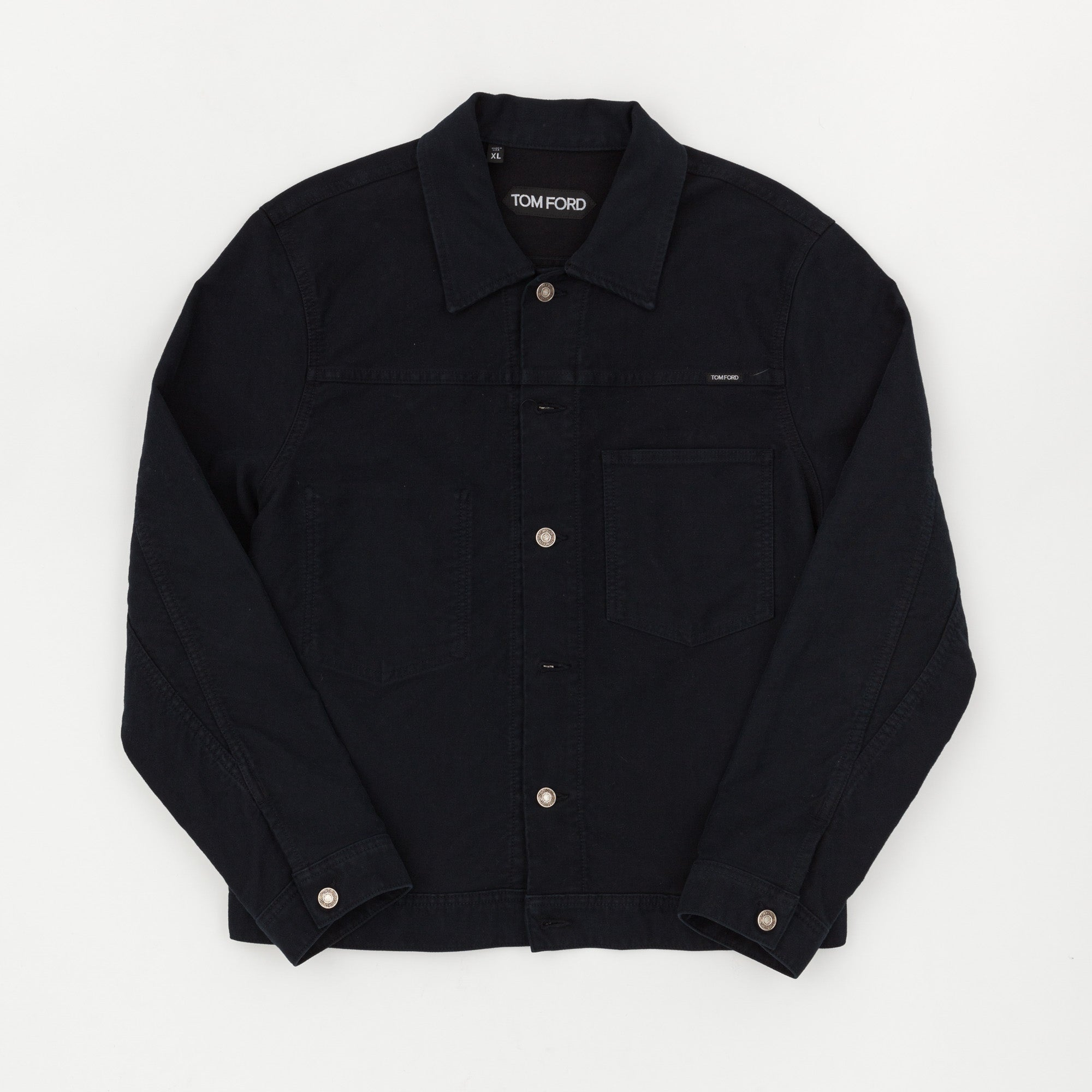 Tom Ford Brushed Cotton Trucker Jacket