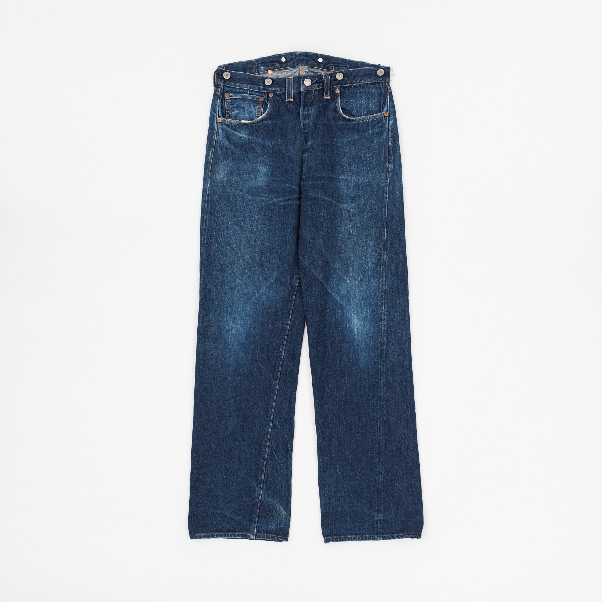 Levi's Vintage Clothing Cinch Back Denim