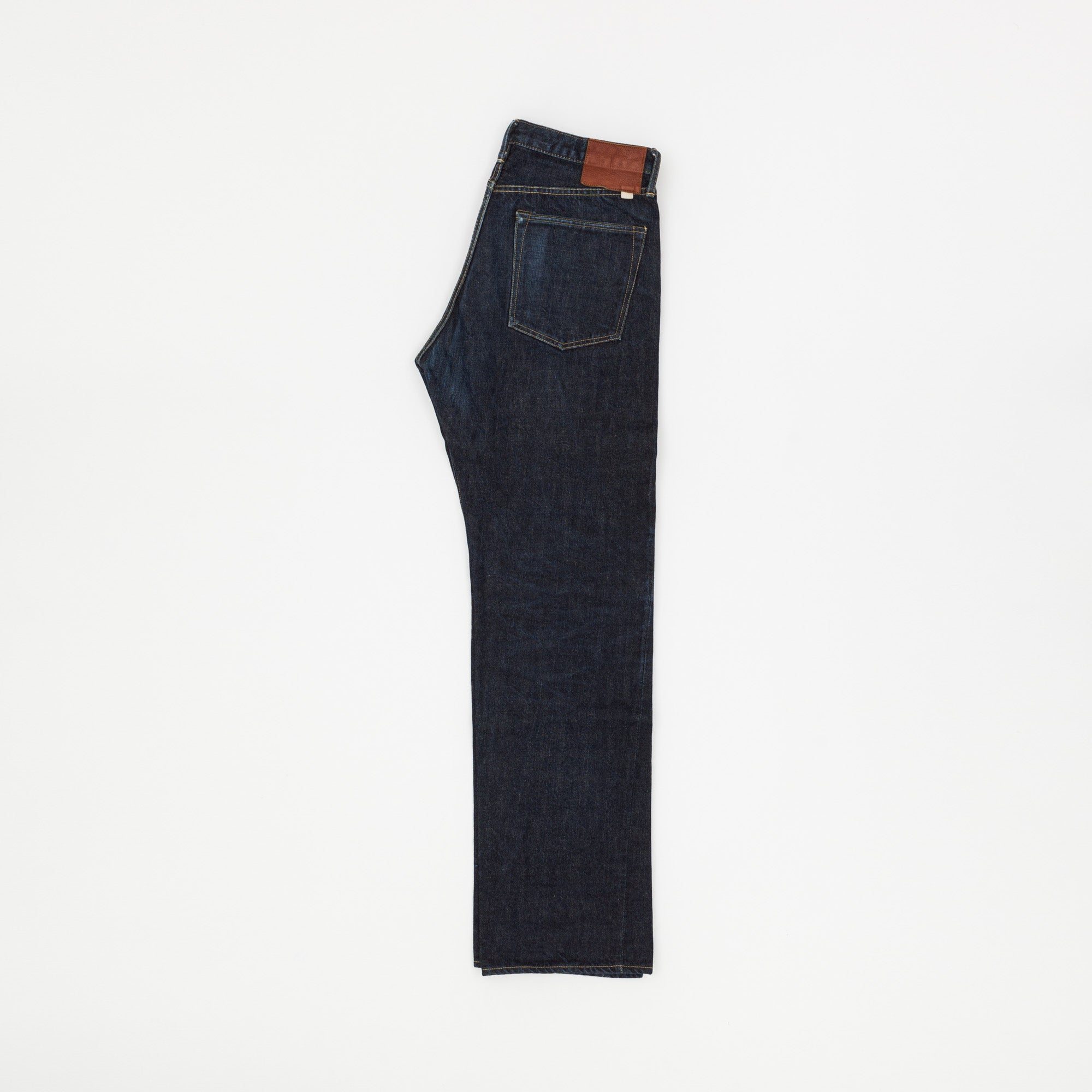 Straight Cut Selvedge Denim