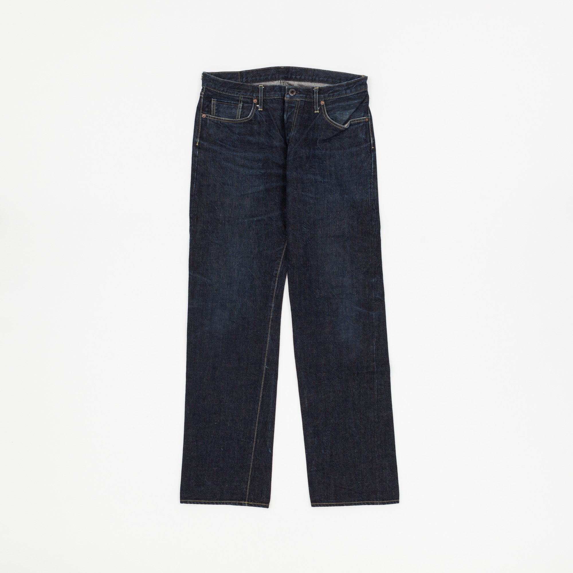 The Hill Side Straight Cut Selvedge Denim