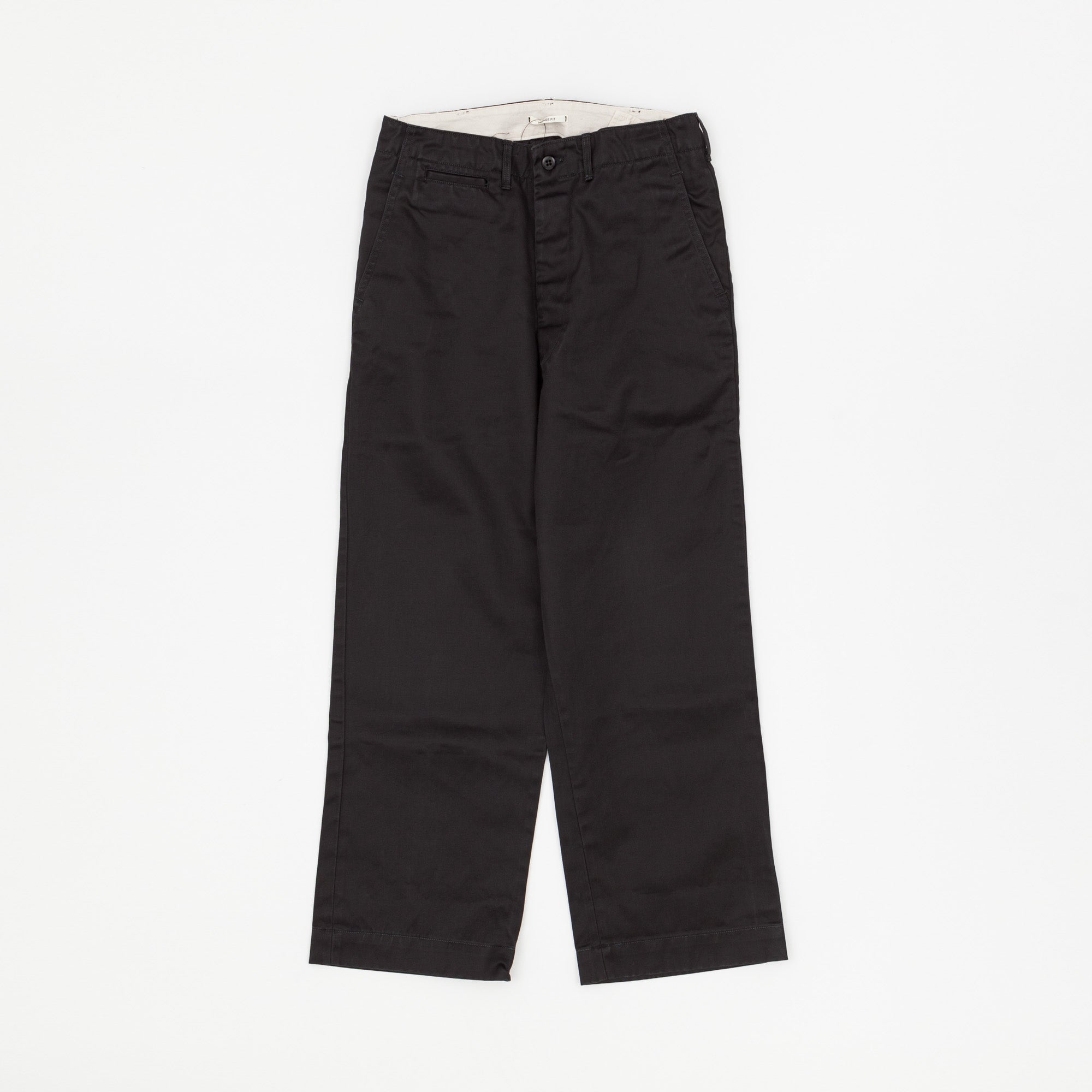 Orslow Moleskin Wide Fit Trousers
