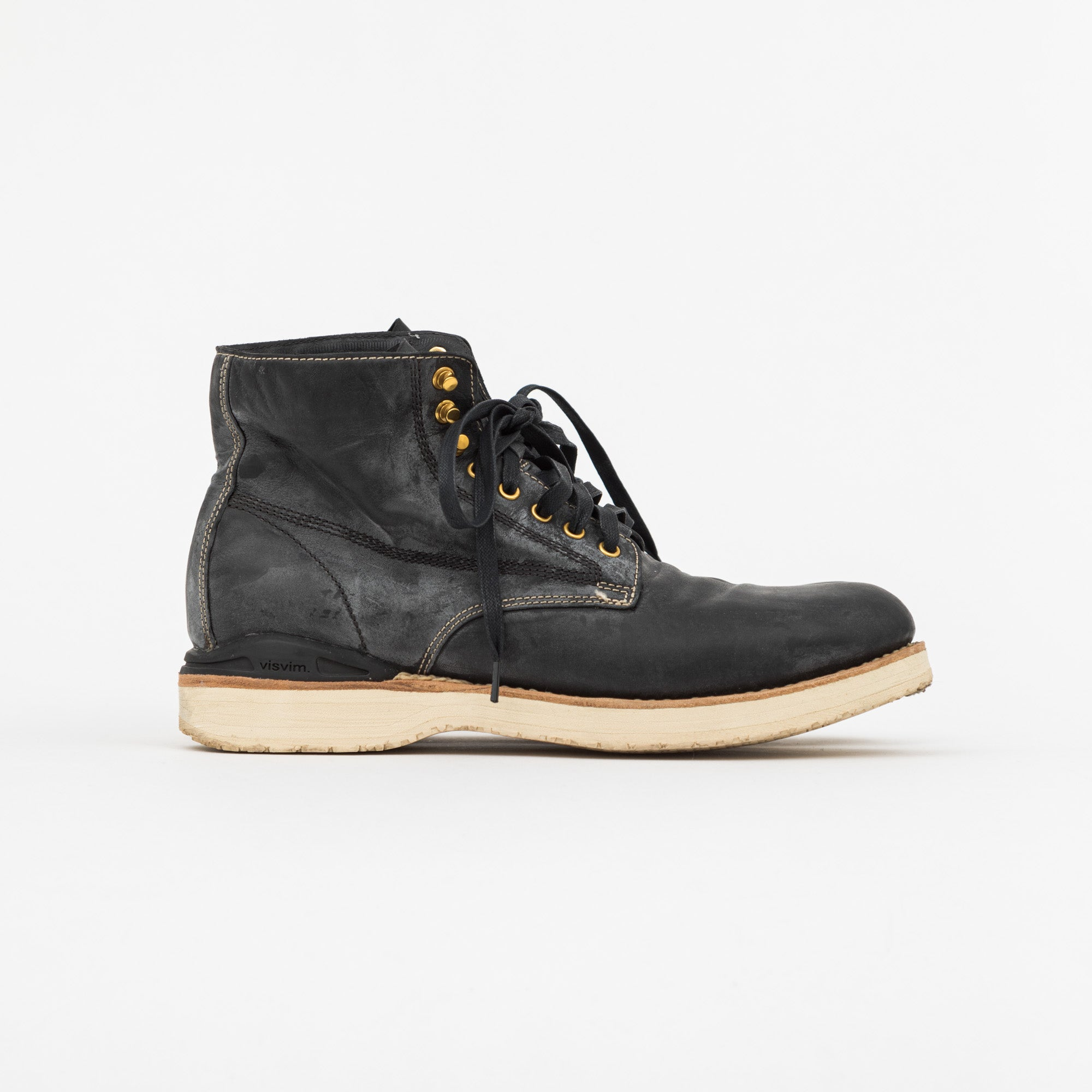 Leather Virgil Folk Boot