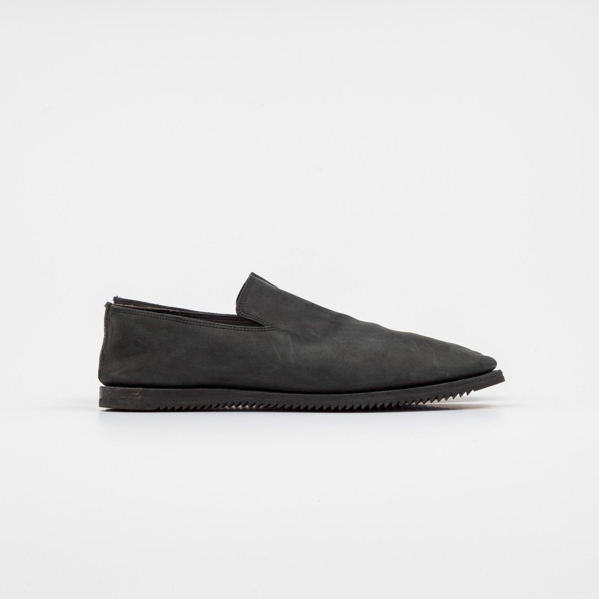 Viberg Boot Suede Slipper