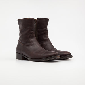 Zip Up Ankle Boots