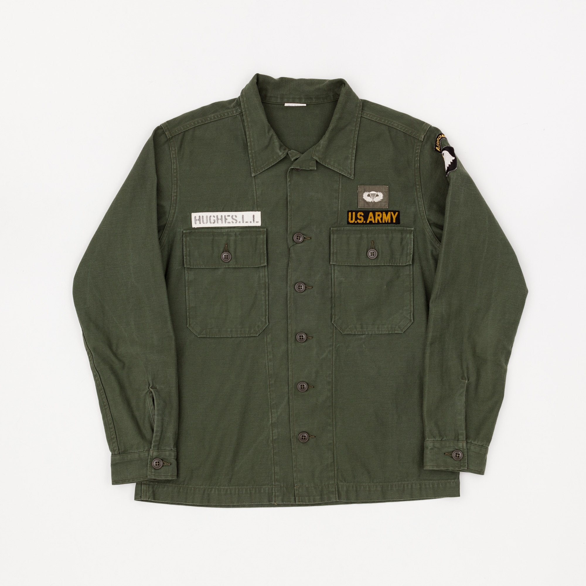 The Real McCoy's U.S Army Sateen Utility Shirt