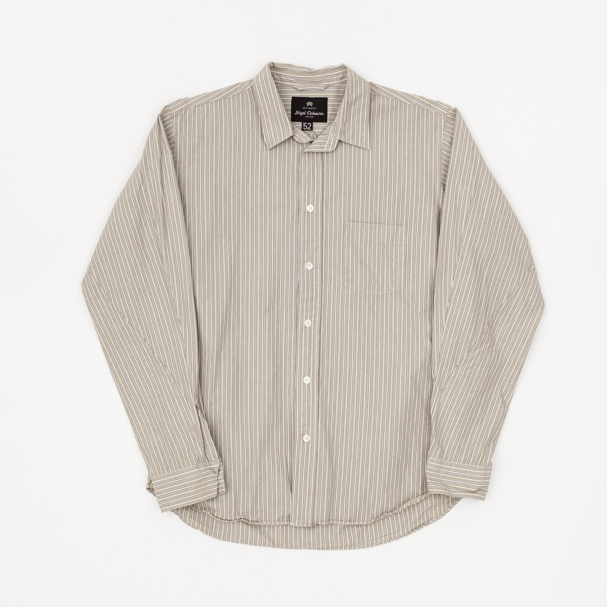 Nigel Cabourn Stripe Dress Shirt