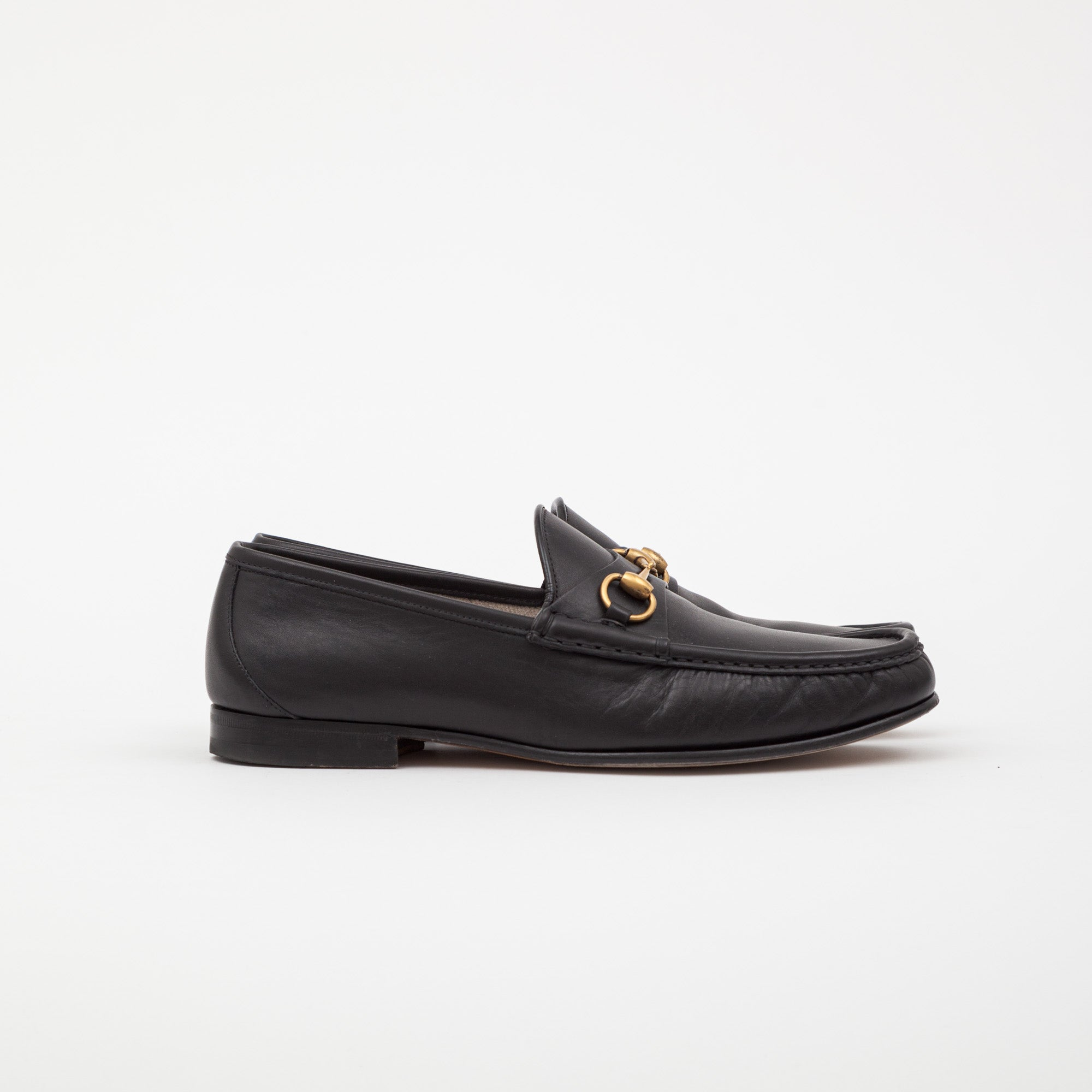 Gucci Jordan Leather Loafers