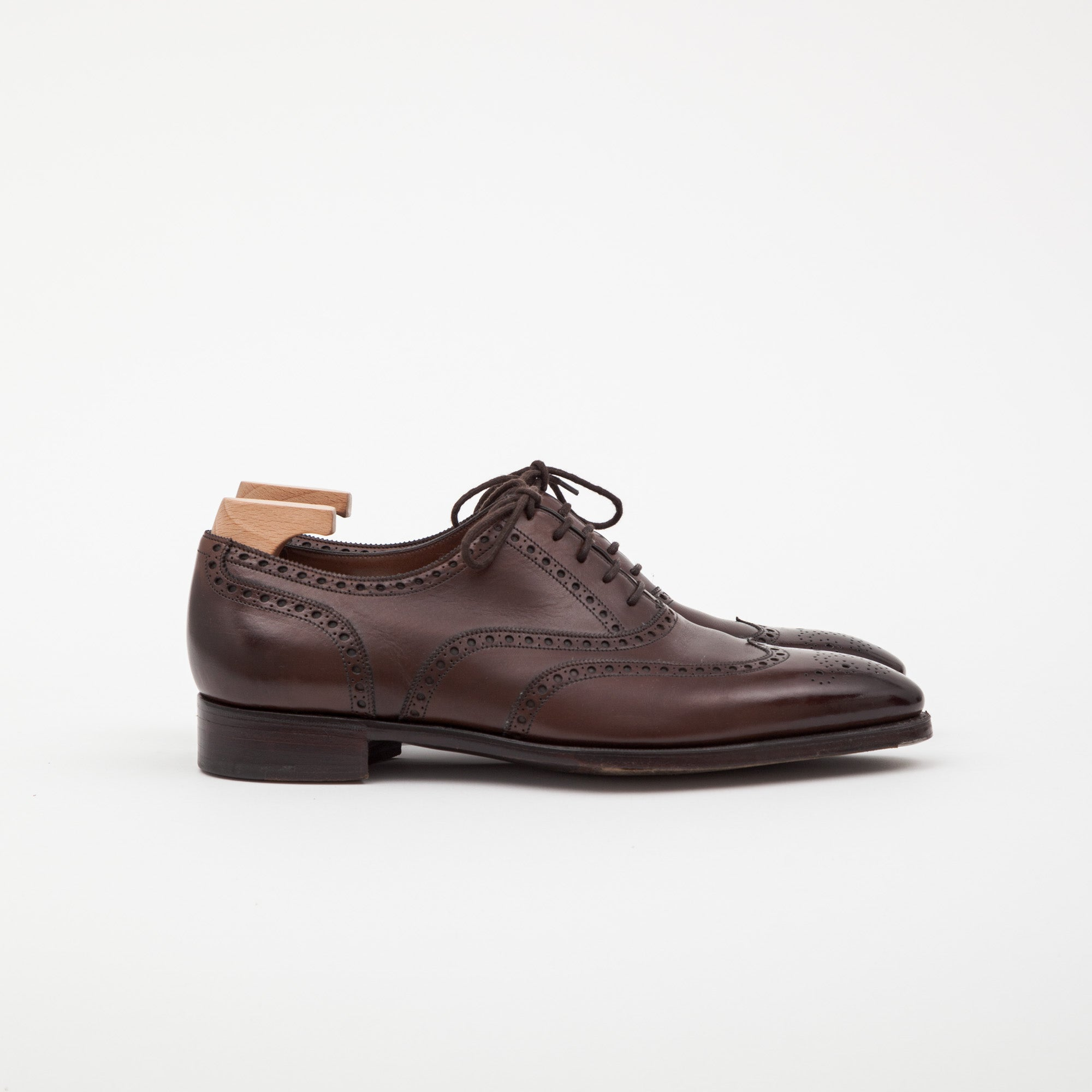 Gaziano & Girling Leather Brogue Shoe