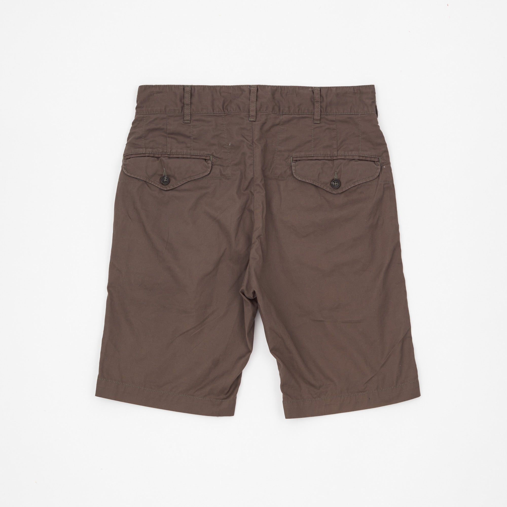 Slim Fit Military Shorts