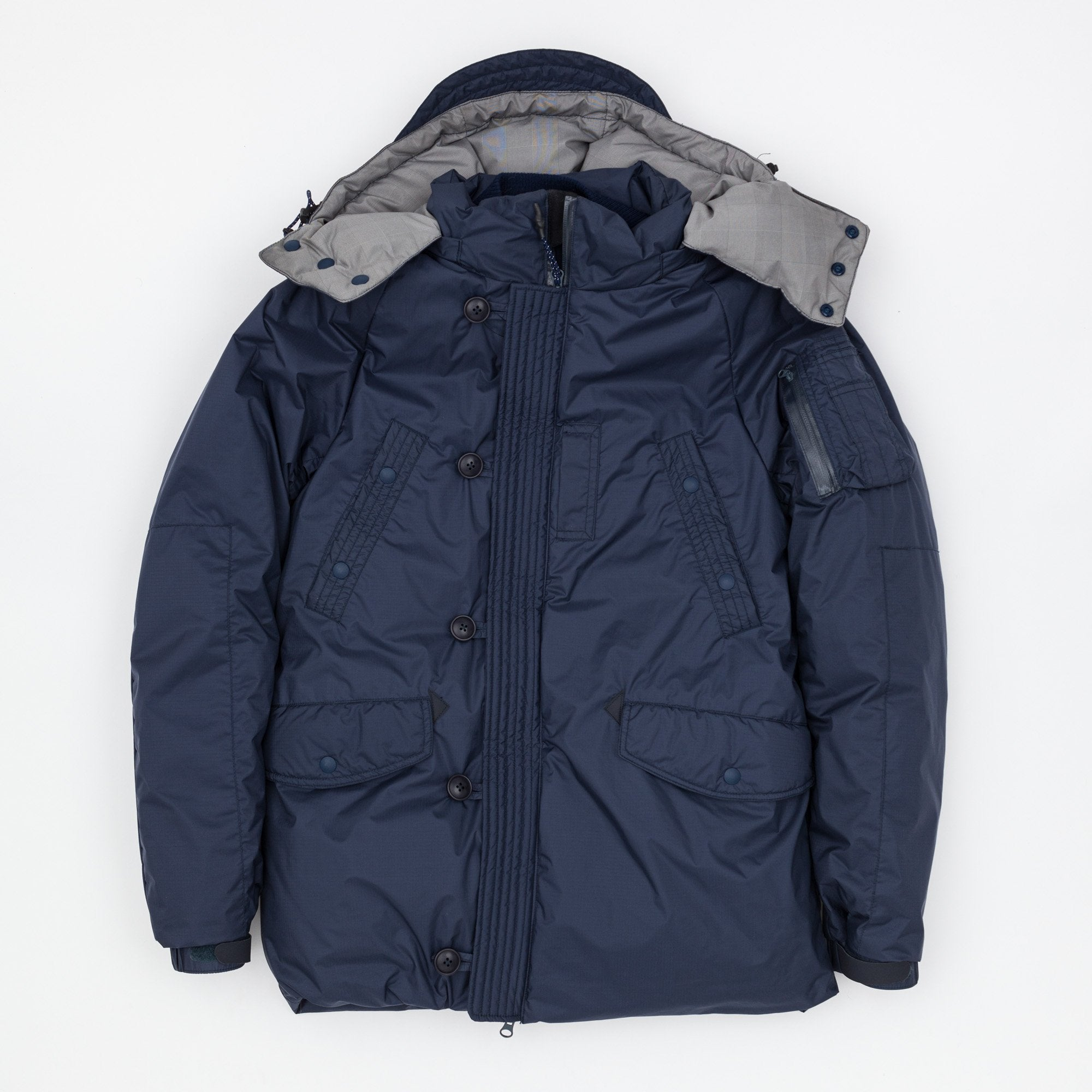 Ficouture x Nanga Pliantex N3b Travel Down Jacket