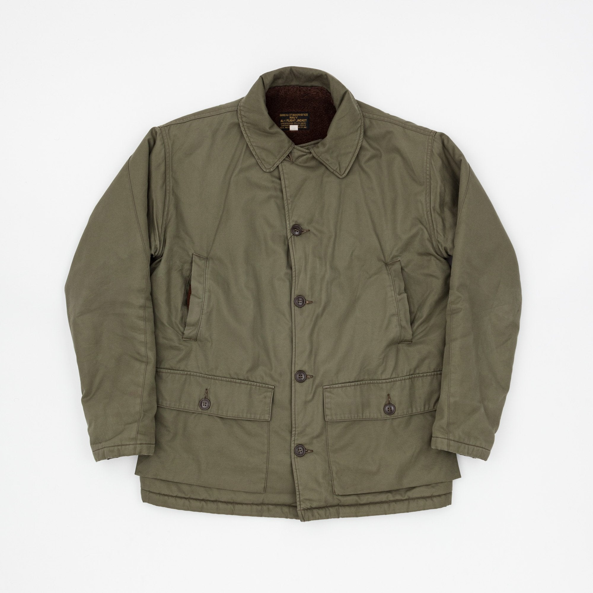 The Real McCoy's AL-1 55J13 Flight Jacket