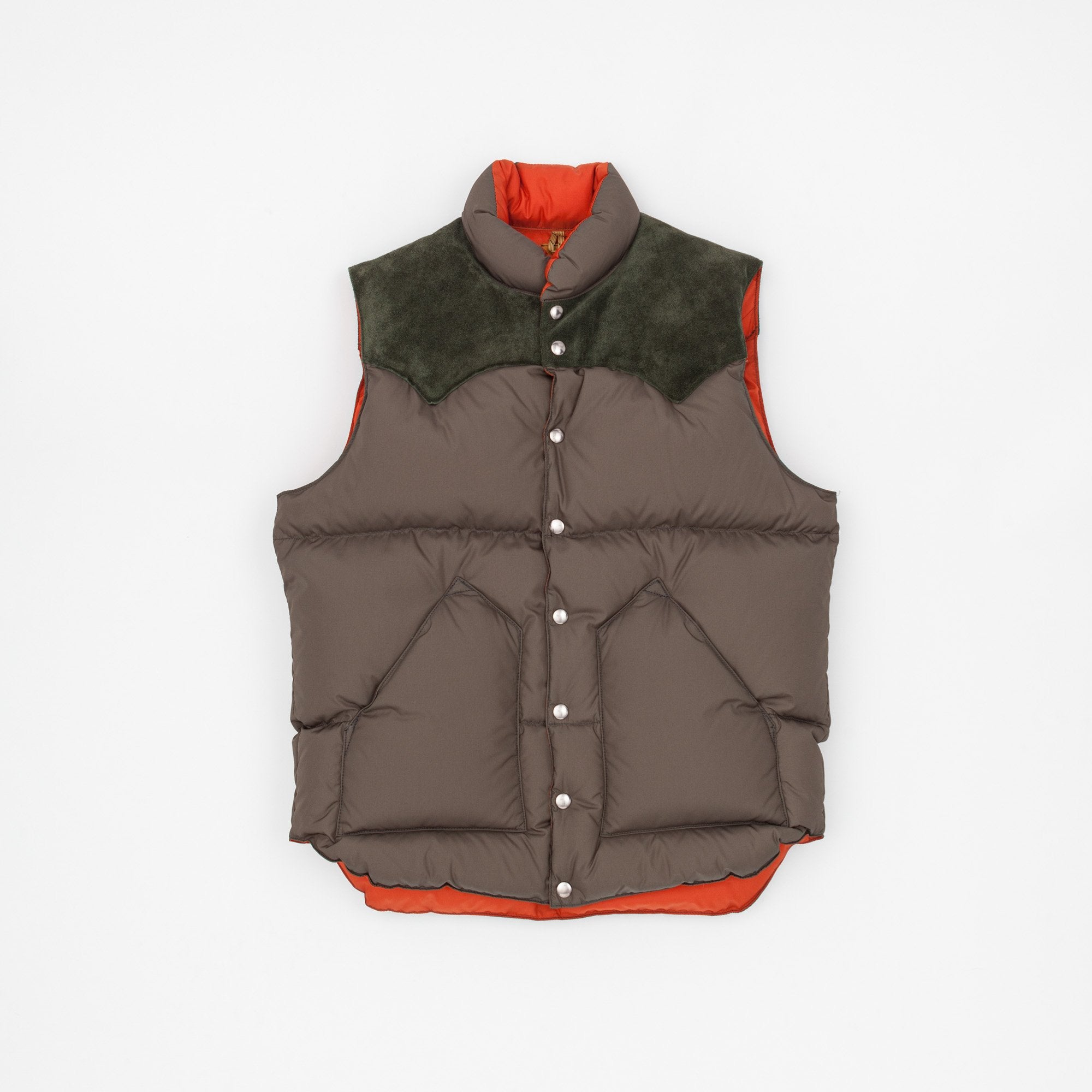 Rocky Mountain Featherbed Suede Christy Nylon Vest