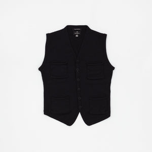 Nigel Cabourn 4 Pocket Wool Vest