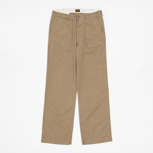 The Real McCoy's Civilian '41 Trousers (Khaki HBT)