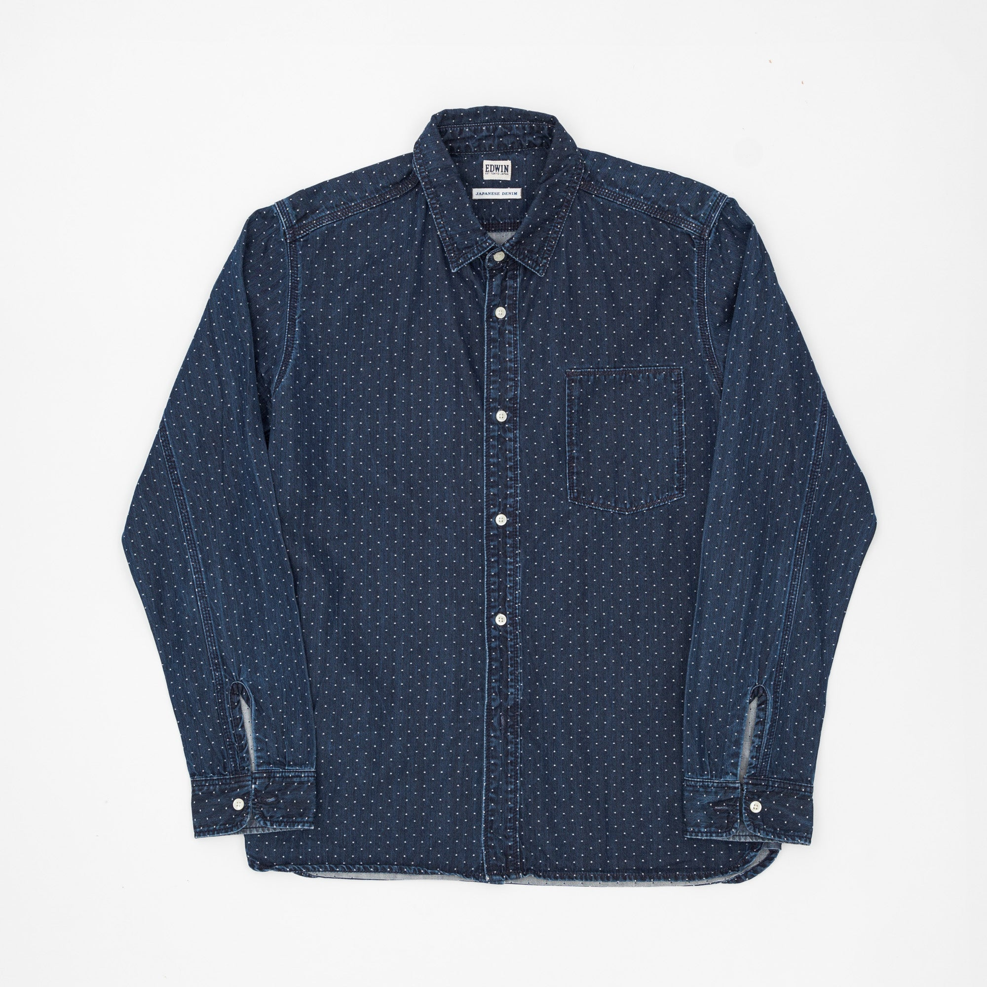 Polka Dot Work Shirt