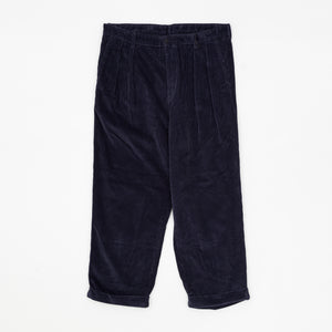 Cord Pleat Trousers