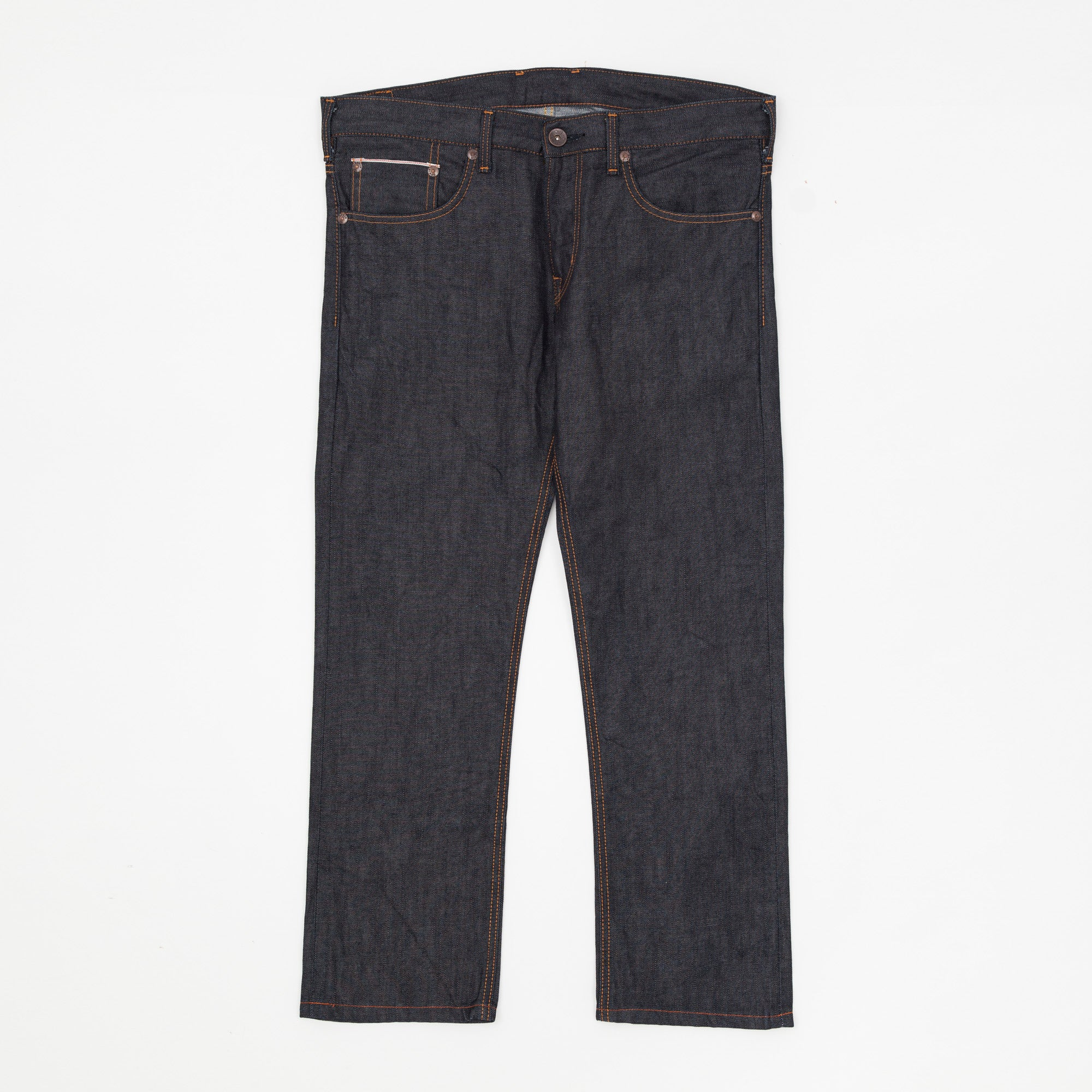 Selvage Slim Fit Cinch Back Jeans